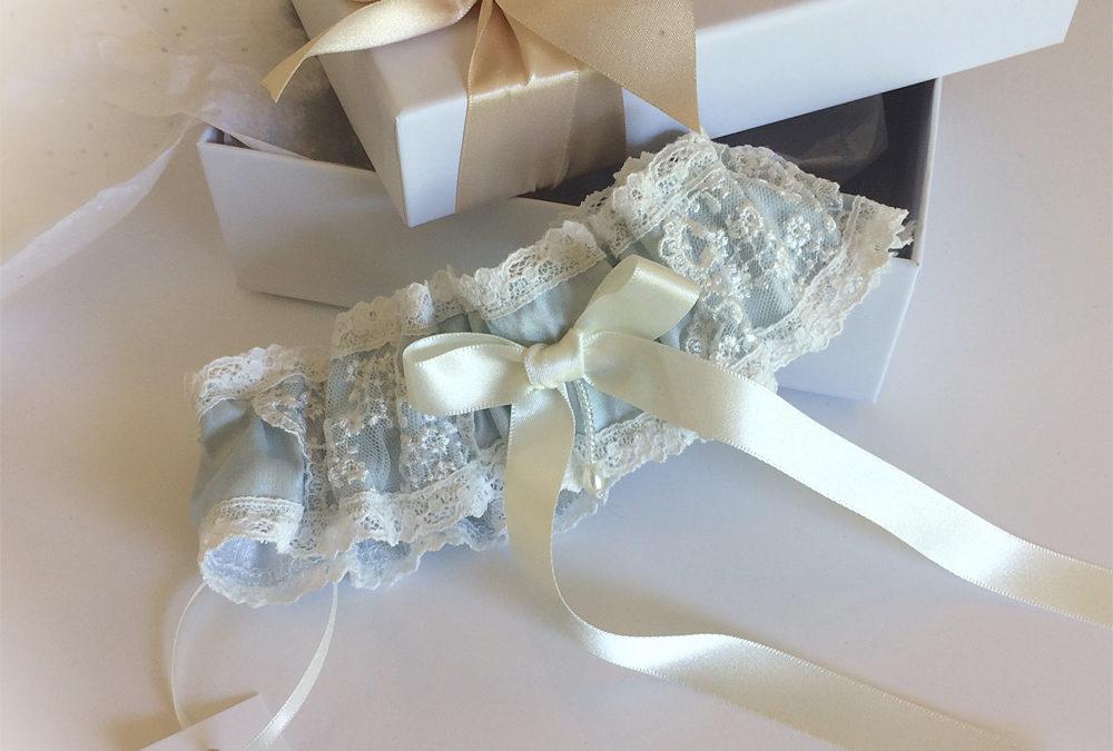 Unique vintage limited edition garters to delight a bride