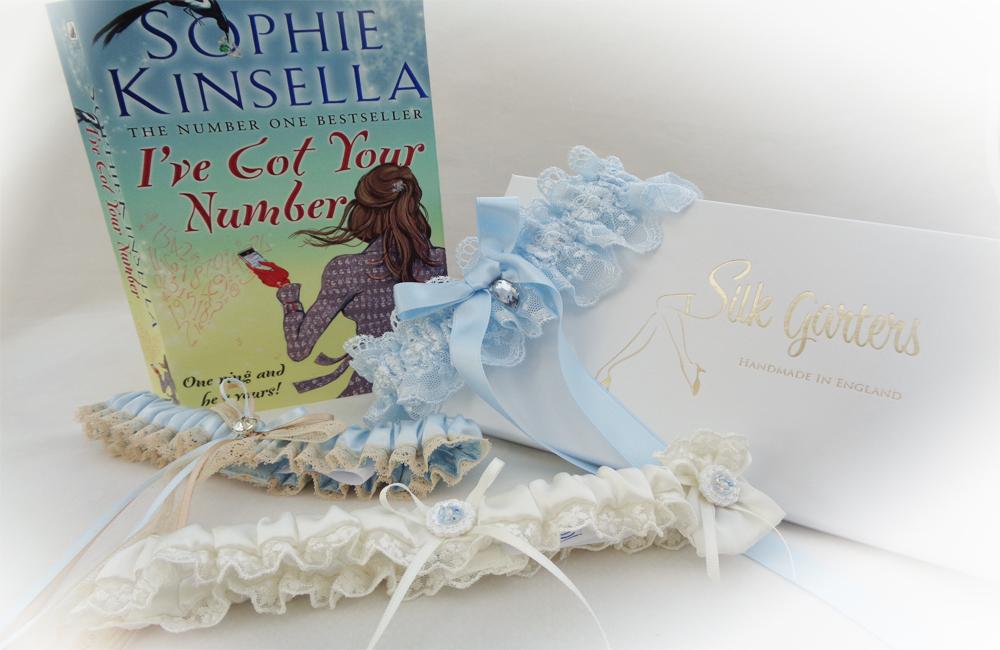 Sophie Kinsella Blue Wedding Garters
