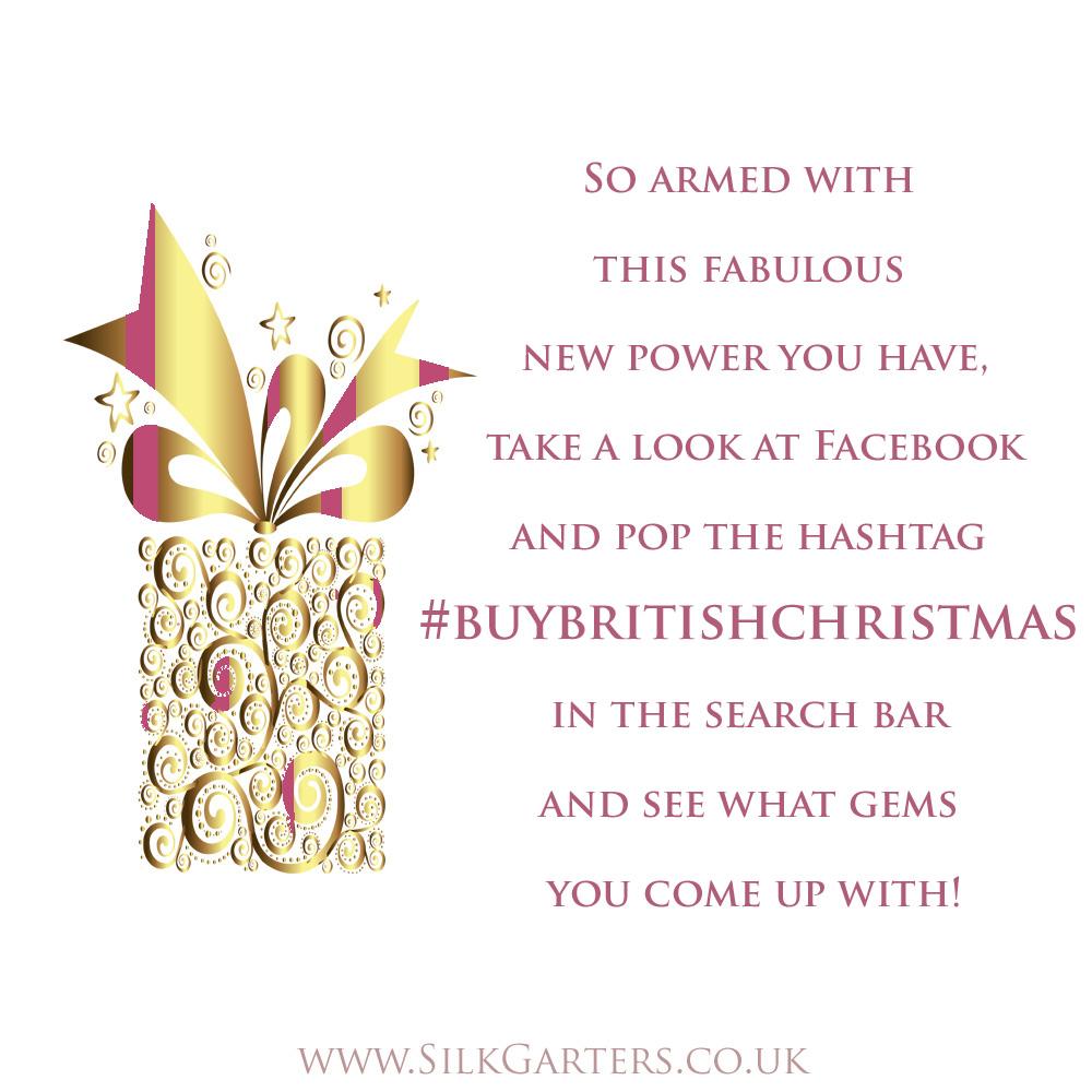 #buybritishchristmas and you create something magical