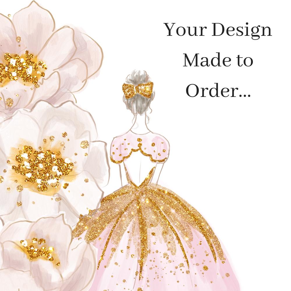 Your Garter design made to order