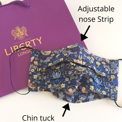 Liberty print face mask for sale