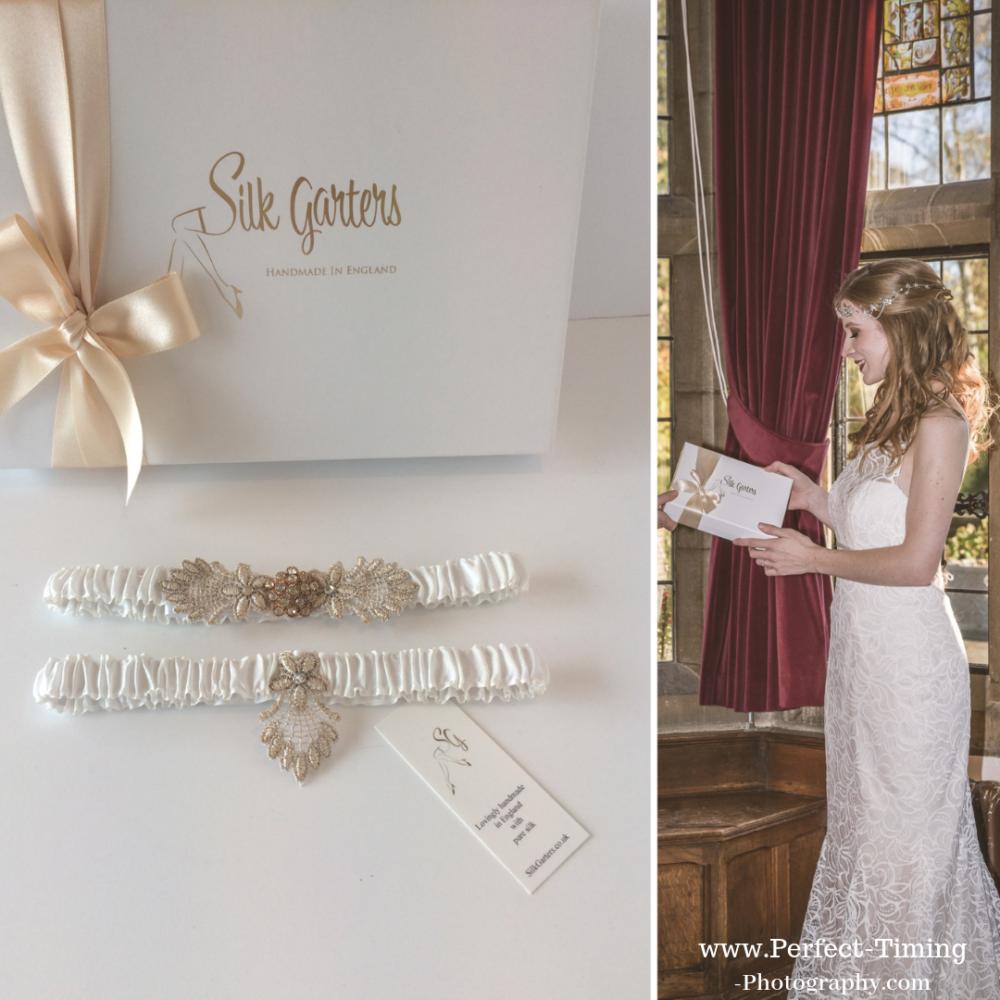 gift for the bride vintage garter set