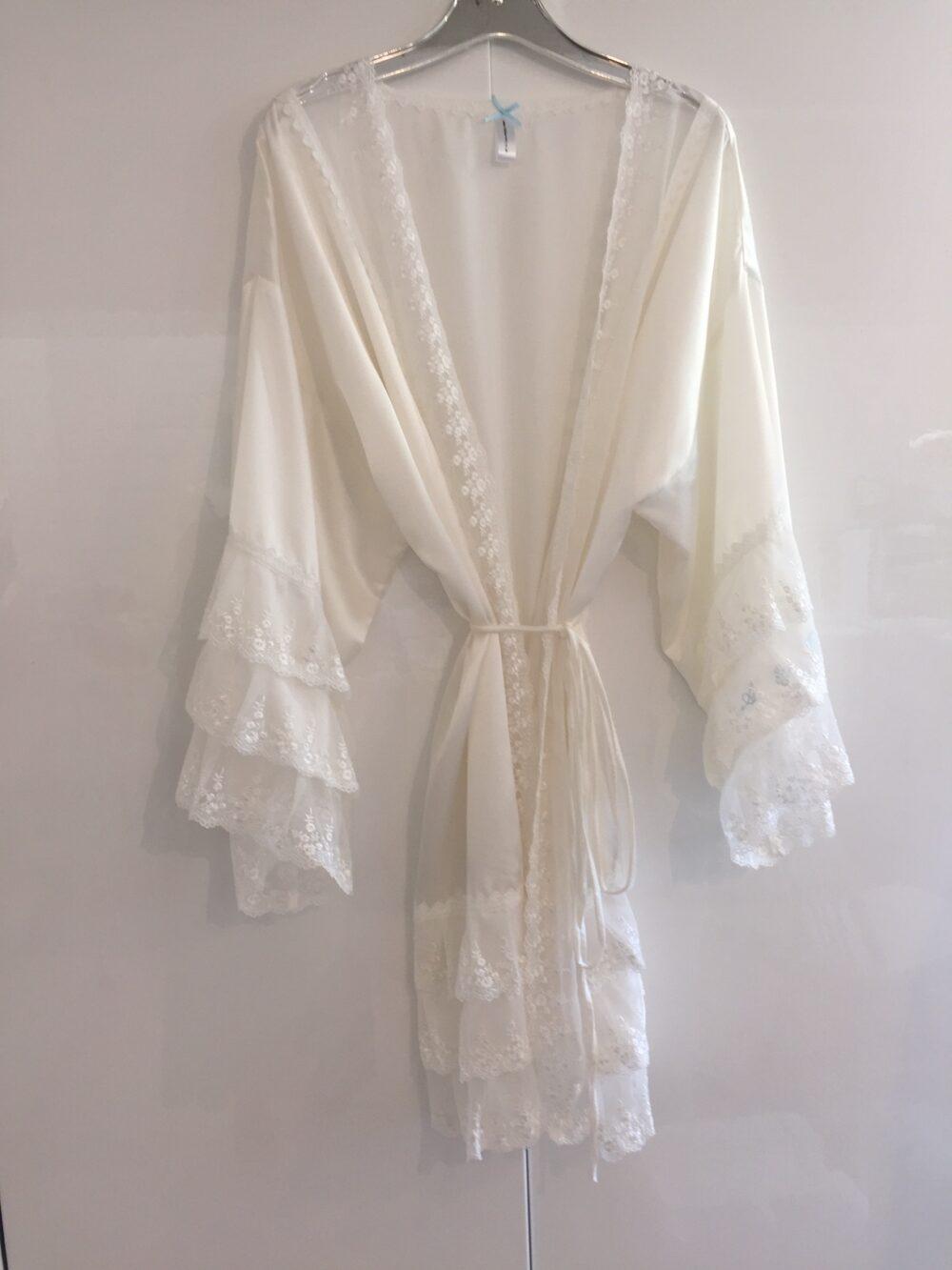 pure silk brides robe