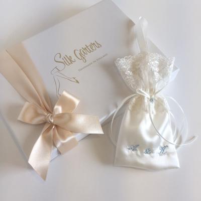 Bride gift keepsake bag