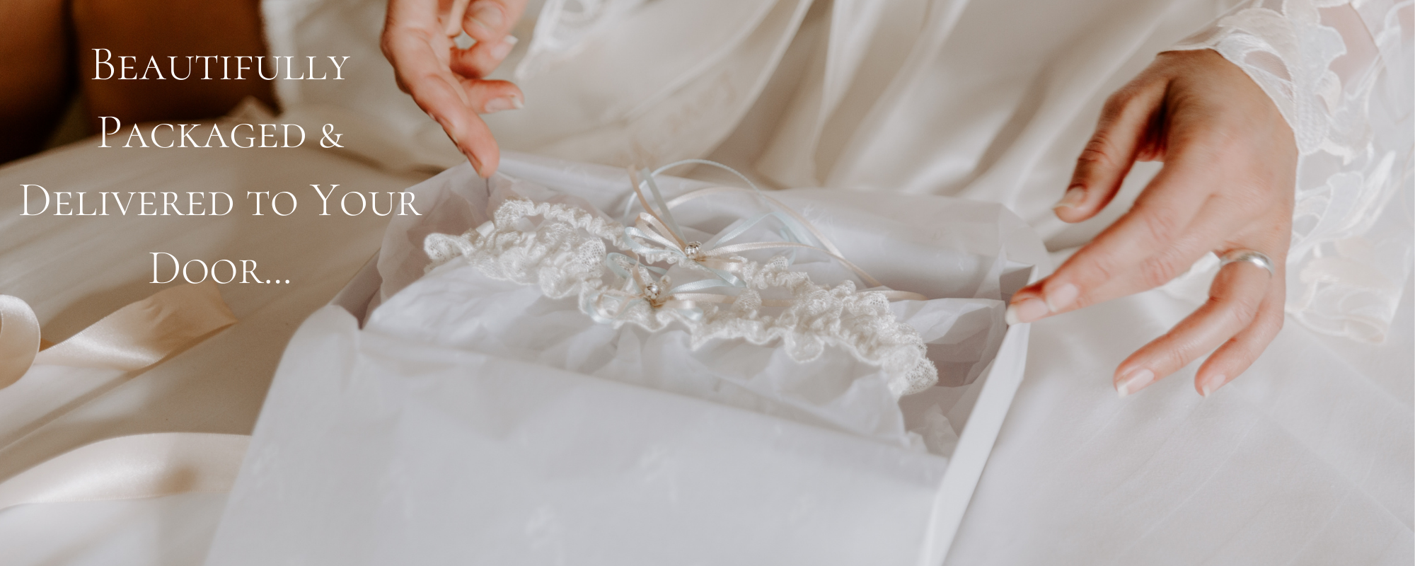 Next day delivery wedding garters