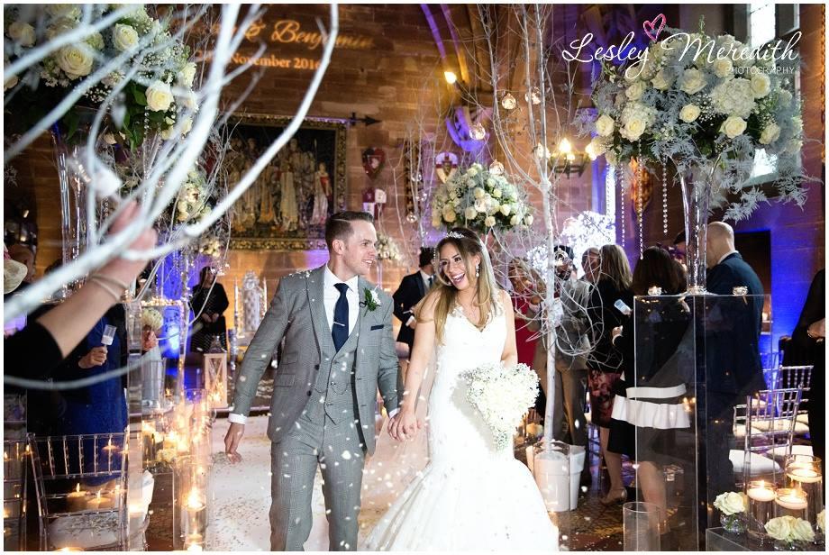 Lindsay and Bens winter wonderland wedding