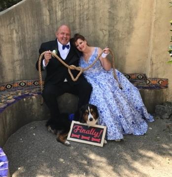 Finally married